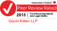 Gould Killian Martindale-Hubbell Peer Review